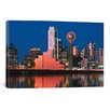 iCanvas Panoramic Digital Composite, Dallas, Texas Photographic Print on Canvas