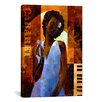iCanvas Diva by Keith Mallett Painting Print on Canvas