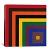 iCanvas Modern Art Color Stacks Graphic Art on Canvas