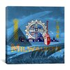 iCanvas Milwaukee Flag, Milwaukee Museum Graphic Art on Canvas