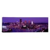 iCanvas Panoramic Dusk Pittsburgh, Pennsylvania Photographic Print on Canvas