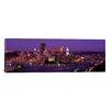iCanvas Panoramic Dusk Pittsburgh, Pennsylvania Photographic Print on Canvas