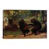 iCanvas Fine Art Dancing Bears Painting Print on Canvas