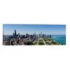 iCanvas Panoramic 'Chicago from Grant Park, 2009, Illinois' Photographic Print on Canvas