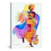 iCanvas 'Joy' Art by Keith Mallett Graphic Art on Canvas