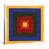 iCanvas Modern Art Color Stacks ll Graphic Art on Canvas