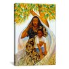 iCanvas 'Griot (the Storyteller)' by Keith Mallett Painting Print on Canvas