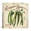 "iCanvas ""Green Beans (On Special II)"" Canvas Wall Art by Lisa Audit"