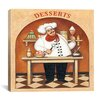"iCanvas ""Desserts"" Canvas Wall Art by John Zaccheo"