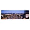 iCanvas Panoramic Cars on The Road, 405 Freeway, City of Los Angeles, California Photographic Print on Canvas