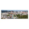 iCanvas Panoramic Colorful Houses in a City San Francisco, California Photographic Print on Canvas