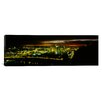 iCanvas Panoramic Buildings Lit Up at Dawn, Pittsburgh, Pennsylvania Photographic Print on Canvas