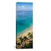 iCanvas Panoramic Waikiki Beach, Honolulu, Oahu, Hawaii Photographic Print on Canvas