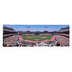 iCanvas Panoramic Dodgers vs. Yankees, Dodger Stadium, City of Los Angeles, California Photographic Print on Canvas