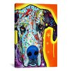 "iCanvas ""Great Dane"" by Dean Russo Graphic Art on Wrapped Canvas"