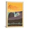 iCanvas 'Great Ocean Road, Australia' by Anderson Design Group Vintage Advertisement on Canvas
