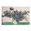"iCanvas ""Irises 1890"" by Vincent Van Gogh Painting Print on Canvas"
