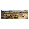 iCanvas Panoramic Amphitheater, Coliseum, Rome, Lazio, Italy Photographic Print on Canvas