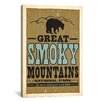 iCanvas 'Great Smokey Mountains lll' by Anderson Design Group Vintage Advertisement on Canvas