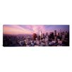 iCanvas Panoramic 'High Angle View of The City, Los Angeles, California' Photographic Print on Canvas
