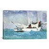 iCanvas Key West, Hauling Anchor 1903 by Winslow Homer Painting Print on Canvas