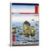 iCanvas 'Futamigaura in Ise Province, 1858' by Utagawa Hiroshige l Graphic Art on Canvas