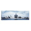 iCanvas Panoramic 'Detroit Skyline Cityscape' Photographic Print on Canvas