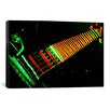 iCanvas Funky Guitar Photographic Print on Canvas