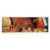 iCanvas Panoramic Fremont Street Experience Las Vegas, Nevada Photographic Print on Canvas