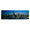 iCanvas Panoramic High Angle View of Boats in a River, Cleveland, Ohio Photographic Print on Canvas