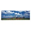 iCanvas Panoramic Manhattan, Twin Towers, New York City Photographic Print on Canvas