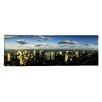iCanvas Panoramic Clouds over the City Skyline Miami, Florida Photographic Print on Canvas