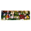 iCanvas Panoramic 'Close-up of Pike Place Market, Seattle, Washington State' Photographic Print on Canvas