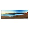 iCanvas Panoramic Footprints on the Beach, Golden Gate Bridge, San Francisco, California Photographic Print on Canvas