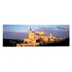 iCanvas Panoramic Alcazar Castle, Old Castile, Segovia Spain Photographic Print on Canvas