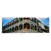 iCanvas Panoramic French Quarter New Orleans Los Angeles Photographic Print on Canvas