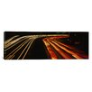 iCanvas Panoramic Traffic on a Road at Night Oakland, California Photographic Print on Canvas