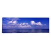 iCanvas Panoramic Clouds over the Sea, Tampa Bay, Gulf of Mexico, Anna Maria Island, Manatee County, Florida Photographic Print on Canvas