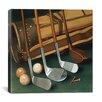 "iCanvas ""Club Line Up (Golf)"" by William Vanderdasson Photographic Print on Canvas"