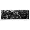 iCanvas Panoramic 'High Angle View of a Train on Railroad Track in a Shunting Yard, Germany' Photographic Print on Canvas