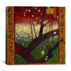 """iCanvas """"Flowering Plum Tree (After Hiroshige)"""" Canvas Wall Art by Vincent van Gogh"""