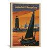 iCanvas Coastal America by Anderson Design Group Vintage Advertisement on Canvas