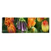 iCanvas Panoramic Close-up of  Flowers Photographic Print on Canvas