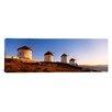 iCanvas Panoramic Mykonos, Cyclades Islands, Greece Photographic Print on Canvas