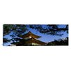 iCanvas Panoramic Kinkaku-ji Temple, Kyoto City, Japan Photographic Print on Canvas