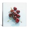 iCanvas Food and Cuisine Red Cherries Photographic Print on Canvas
