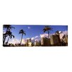 iCanvas Panoramic 'Low Angle View of Skyscrapers, Honolulu, Hawaii 2010' Photographic Print on Canvas