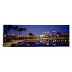 iCanvas Panoramic Reflection of Buildings in Water Orlando, Florida Photographic Print on Canvas