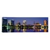 iCanvas Panoramic Reflection of Buildings in Water, Orlando, Florida Photographic Print on Canvas