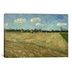 iCanvas 'Ploughed Fields (The Furrows)' by Vincent van Gogh Painting Print on Canvas